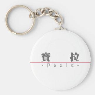 Chinese name for Paula 20285_3 pdf Key Chain
