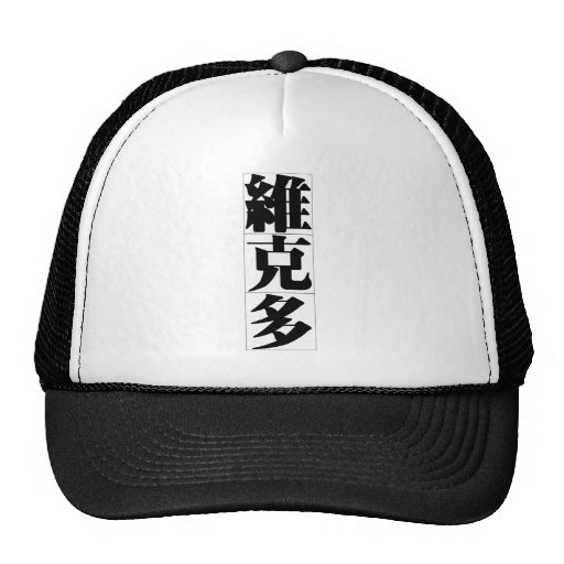 Chinese name for Victor 20854_3.pdf Mesh Hat