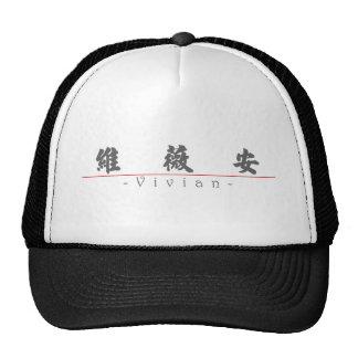 Chinese name for Vivian 21153_4 pdf Mesh Hats