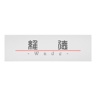 Chinese name for Wade 20859_0 pdf Poster
