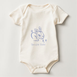 Chinese New Year -  2011 - Year of the Rabbit Baby Bodysuits
