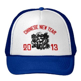 Chinese New Year 2013 Mesh Hats