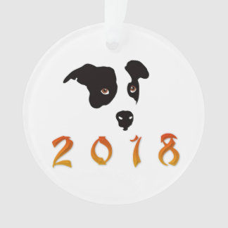 Chinese New Year 2018 Ornament
