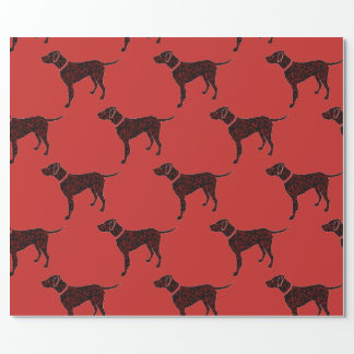 Chinese New Year 2018 Year of the Dog Wrapping Paper