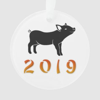 Chinese New Year 2019 Pig Ornament