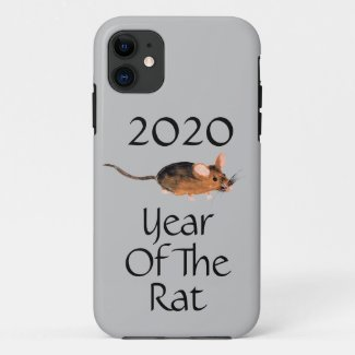 Chinese New Year 2020 | Year of the Rat Case-Mate iPhone Case