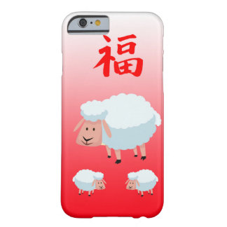 Chinese New Year  Apple iPhone Barely There iPhone 6 Case