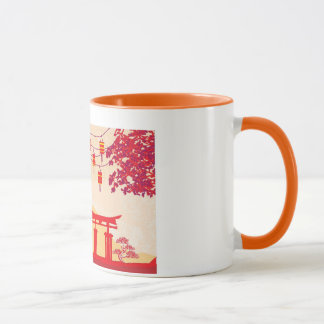 Chinese New Year Card - Traditional Lanterns Mug
