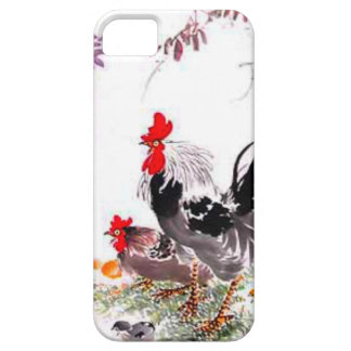 Chinese new year,Chickens in the yard Barely There iPhone 5 Case