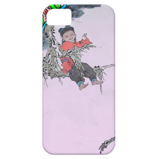 Chinese New Year, Child in a tree Case For The iPhone 5