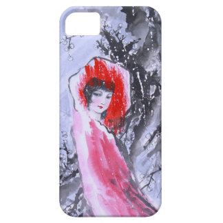 Chinese new year, Chinese girl in pink iPhone 5 Case