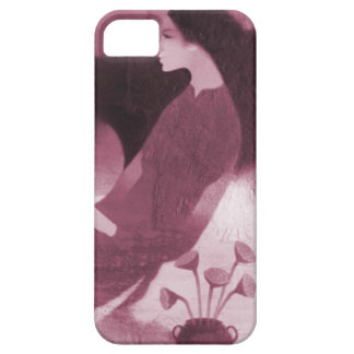 Chinese New Year,Chinese lady with flowers Barely There iPhone 5 Case