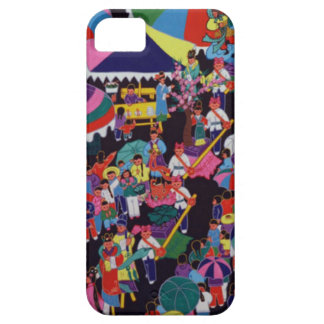 Chinese New Year,Chinese village celebration Barely There iPhone 5 Case