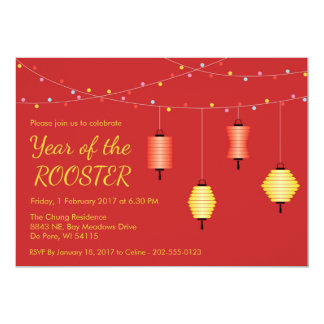 Chinese New Year Customised Party Invitation