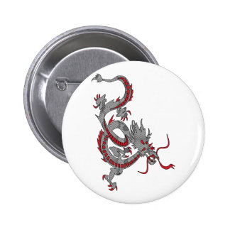 Chinese New Year Dragon Pinback Buttons