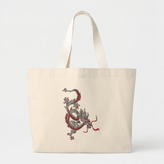 Chinese New Year Dragon Canvas Bags