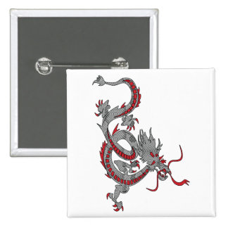Chinese New Year Dragon Buttons