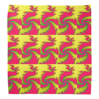 Chinese New Year Dragon Fractal Bandana