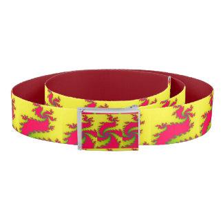 Chinese New Year Dragon Fractal Belt