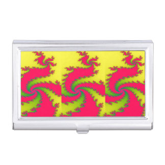 Chinese New Year Dragon Fractal Business Card Cases