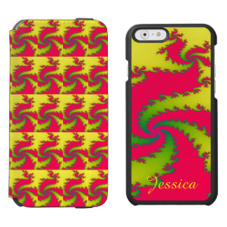 Chinese New Year Dragon Fractal Custom Incipio Watson™ iPhone 6 Wallet Case