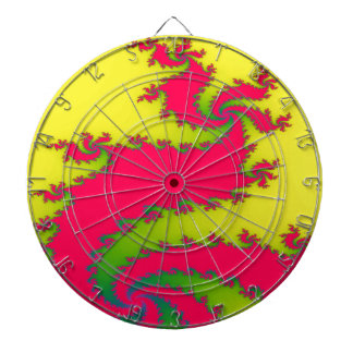 Chinese New Year Dragon Fractal Dart Board