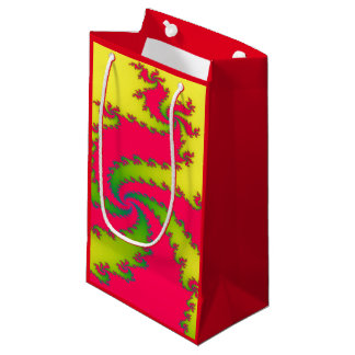 Chinese New Year Dragon Fractal Gift Bag