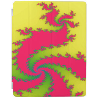 Chinese New Year Dragon Fractal iPad Cover