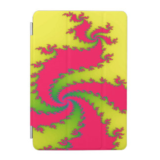 Chinese New Year Dragon Fractal iPad Mini Cover
