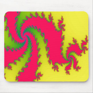 Chinese New Year Dragon Fractal Mousepad