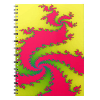 Chinese New Year Dragon Fractal Notebook