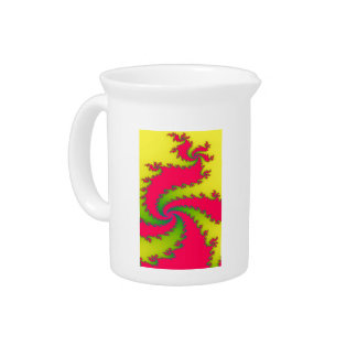 Chinese New Year Dragon Fractal Pitcher