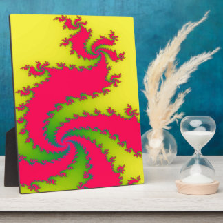 Chinese New Year Dragon Fractal Plaque