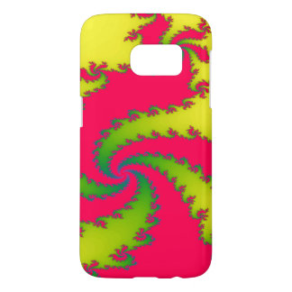 Chinese New Year Dragon Fractal Samsung Case