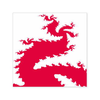 Chinese New Year Dragon Fractal Self Inking Stamp