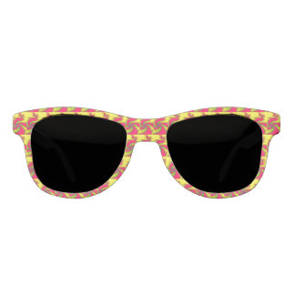 Chinese New Year Dragon Fractal Sunglasses