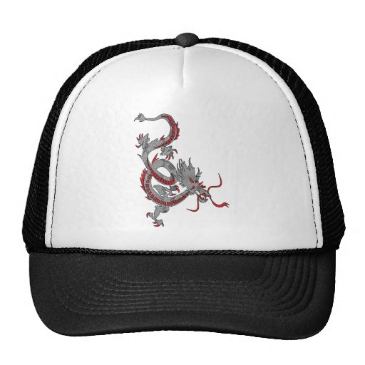 Chinese New Year Dragon Mesh Hats