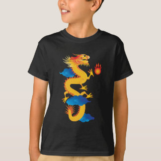 Chinese New Year Dragon Illustration Tees
