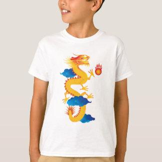 Chinese New Year Dragon Illustration Tshirt