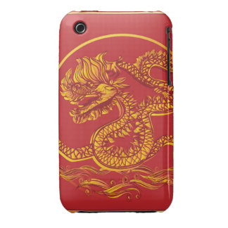 Chinese new year dragon iPhone 3 Case-Mate case