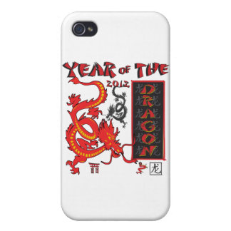 Chinese New Year Dragon Case For iPhone 4