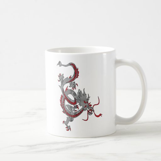 Chinese New Year Dragon Mugs