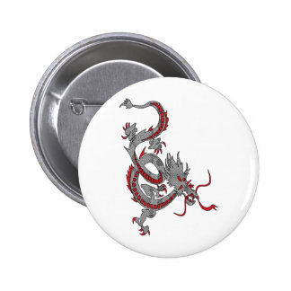 Chinese New Year Dragon Pinback Button