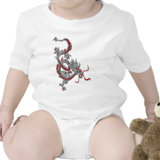 Chinese New Year Dragon Rompers