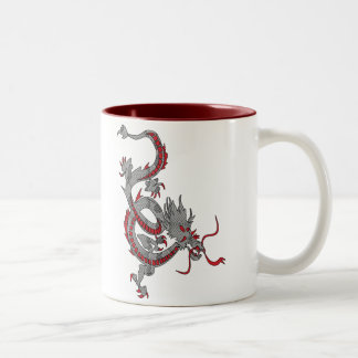 Chinese New Year Dragon Two-Tone Coffee Mug