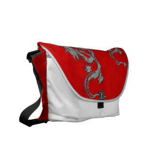 Chinese New Year Dragons Courier Bag