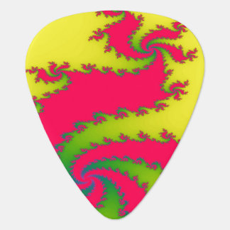 Chinese New Year Dragoon Fractal Guitar Pick