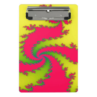 Chinese New Year Draon Fractal Mini Clipboard