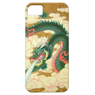 Chinese New Year,Green dragon iPhone 5 Cases