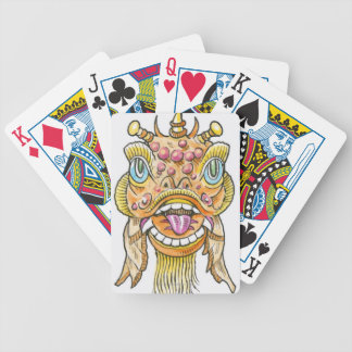 Chinese New Year Mask Bicycle Playing Cards